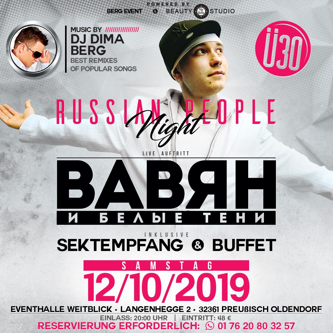 ü30 Russian people night